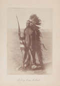American Indian Art:Photographs, A PHOTO ALBUM FROM PINE RIDGE RESERVATION. c. 1899...