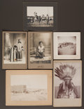 American Indian Art:Photographs, SIX PHOTOGRAPHS OF PINE RIDGE RESERVATION SUBJECTS... (Total: 6Items)