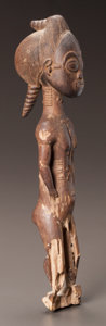 Tribal Art, A BAULE MALE SPIRIT SPOUSE...