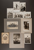 American Indian Art:Photographs, JOHNSON FAMILY PHOTO ARCHIVE TAKEN ON THE PINE RIDGE RESERVATION INTHE 1930'S... (Total: 92 Items)