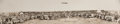 "American Indian Art:Photographs, ""SIOUX INDIANS ENTERTAINING PRESIDENT COOLIDGE AT PINE RIDGEAGENCY,"" PANORAMIC PHOTO BY ""RISE STUDIO, RAPID CITY, S. DAK.""..."