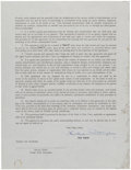 Baseball Collectibles:Others, 1962 Ken Boyer Signed Contract....