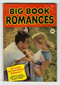 Golden Age (1938-1955):Romance, Big Book Romances #1 (Fawcett, 1950) Condition: VG. Photo cover.Square-bound. Contains three remaindered Fawcett romance co...