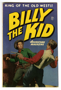 Billy the Kid Adventure Magazine #1 Mile High pedigree (Toby Publishing, 1950) Condition: VF. Photo cover. Al Williamson...