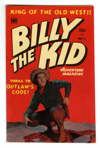 Billy the Kid Adventure Magazine #2 Mile High pedigree (Toby Publishing, 1950) Condition: VF/NM. Photo cover. Overstreet...