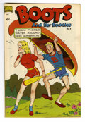 Golden Age (1938-1955):Humor, Boots and Her Buddies #8 Mile High pedigree (Standard, 1949) Condition: NM. Good girl art. This copy appears to have never b...