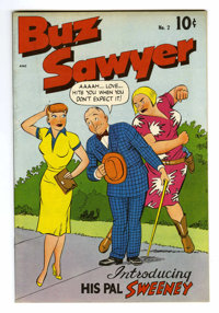Buz Sawyer #2 Mile High pedigree (Standard, 1948) Condition: NM-. Introduction of Buz's pal Sweeny. Overstreet 2006 NM-...