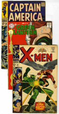 Silver Age (1956-1969):Superhero, Captain America and Others Group (Marvel/DC, 1967-68) Condition: Average FN. Composed of Captain America #101 (Sleeper c... (Total: 14 Comic Books)