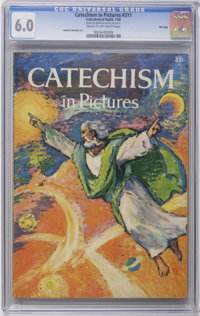 Catechetical Guild Giveaways: Catechism In Pictures #311 - File Copy (Catechetical Guild, 1958) CGC FN 6.0 Cream to off-...