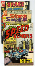Silver Age (1956-1969):Miscellaneous, Charlton Silver Age Group (Charlton, 1958-81) Condition: Average VG. This group of twelve Charlton comics contains Charlto... (Total: 22 Comic Books)