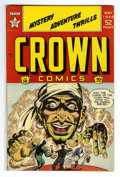 Golden Age (1938-1955):Adventure, Crown Comics #18 Mile High pedigree (Golfing, Inc., 1949) Condition: NM. Frank Bolle art. Overstreet 2006 NM- 9.2 value = $1...