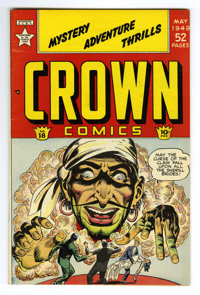 Crown Comics #18 Mile High pedigree (Golfing, Inc., 1949) Condition: NM. Frank Bolle art. Overstreet 2006 NM- 9.2 value...