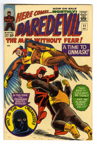 Daredevil #11 (Marvel, 1965) Condition: NM-. Daredevil battles the Ani-Men. Bob Powell and Wally Wood cover and art. Ove...