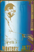 Music Memorabilia:Posters, Monterey Jazz Festival Concert Poster (1970). Duke Ellington isfeaturing on this poster for the classic Jazz and Blues fes...(Total: 1 Item)