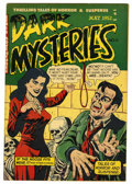 Golden Age (1938-1955):Horror, Dark Mysteries #6 (Master Publications, 1952) Condition: FN. Issuehas a water stain. Overstreet 2006 FN 6.0 value = $129. ...