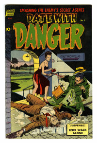 Date With Danger #5 (Standard, 1952) Condition: VF/NM. Secret agent stories. Based on this copy's provenance, we think i...