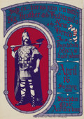 "Music Memorabilia:Posters, Big Brother and the Holding Company Stockton Civic AuditoriumConcert Poster (1967). It's an old fashioned ""Psychedelic Dan...(Total: 1 Item)"