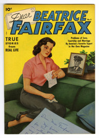 Dear Beatrice Fairfax #9 Mile High pedigree (Standard, 1951) Condition: NM. Alex Schomburg airbrushed cover. Overstreet...