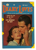 Golden Age (1938-1955):Romance, Diary Loves #22 Mile High pedigree (Quality, 1952) Condition:VF/NM. Photo cover. Overstreet 2006 VF/NM 9.0 value = $43; NM-...