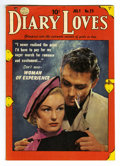 Golden Age (1938-1955):Romance, Diary Loves #23 Mile High pedigree (Quality, 1952) Condition: VF.Photo cover. Overstreet 2006 VF 8.0 value = $35. From th...