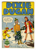Golden Age (1938-1955):Humor, Dixie Dugan #2 Mile High pedigree (Eastern Publishing, 1942) Condition: VF/NM. Strip reprints. Overstreet 2006 VF/NM 9.0 val...