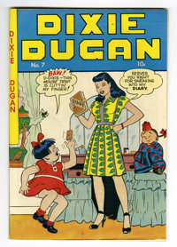 Dixie Dugan #7 Mile High pedigree (Publication Enterprises, 1947) Condition: NM+. Strip reprints. Overstreet 2006 NM- 9...
