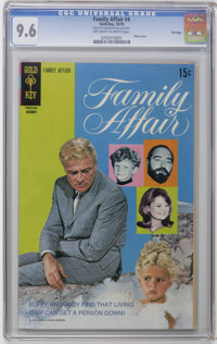 Family Affair #4 File Copy (Gold Key, 1970) CGC NM+ 9.6 Off-white to white pages. Photo cover. Overstreet 2006 NM- 9.2 v...