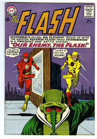 The Flash #147 (DC, 1964) Condition: VF+. Reverse Flash appearance. Carmine Infantino cover and art. Overstreet 2006 VF...