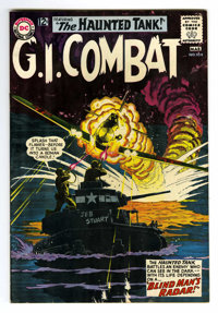 G.I. Combat #104 (DC, 1964) Condition: VF. Joe Kubert cover and art. Grey tone cover. Overstreet 2006 VF 8.0 value = $63...