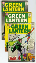 Silver Age (1956-1969):Superhero, Green Lantern Group (DC, 1963-72) Condition: Average VG. Includes #18, 19, #24 (first appearance and origin of the Shark), 2... (Total: 33 Comic Books)
