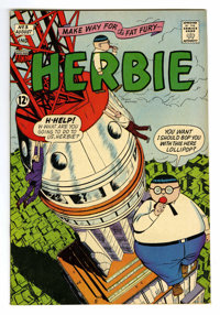 Herbie #3 (ACG, 1964) Condition: VF+. Ogden Whitney art. Overstreet 2006 VF 8.0 value = $65; VF/NM 9.0 value = $98
