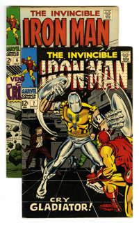 Iron Man #6 and 7 Group (Marvel, 1968) Condition: Average VF. Includes #6 and 7. George Tuska and Johnny Craig art in bo...