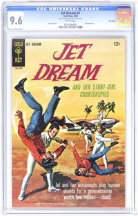 Jet Dream #1 File Copy (Gold Key, 1968) CGC NM+ 9.6 White pages. Painted cover. Joe Certa art. Overstreet 2006 NM- 9.2 v...