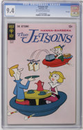 Bronze Age (1970-1979):Cartoon Character, The Jetsons #33 File Copy (Gold Key, 1970) CGC NM 9.4 Off-white towhite pages. Overstreet 2006 NM- 9.2 value = $80. CGC cen...