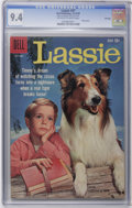 Silver Age (1956-1969):Adventure, Lassie #47 File Copy (Dell, 1959) CGC NM 9.4 Off-white to white pages. Photo cover. Tied for the highest CGC grade to date. ...
