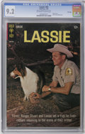 Silver Age (1956-1969):Adventure, Lassie #65 File Copy (Gold Key, 1966) CGC NM- 9.2 Off-white to white pages. Photo cover. Back cover photo pin-up. Overstreet...