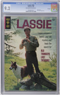 Silver Age (1956-1969):Adventure, Lassie #66 File Copy (Gold Key, 1966) CGC NM- 9.2 Off-white to white pages. Photo cover. Back cover photo pin-up. Overstreet...