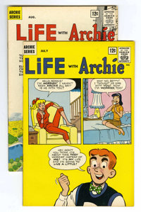Life With Archie #21 and 22 Group (Archie, 1963) Condition: Average VF/NM. Contains #21 and 22. Approximate Overstreet v...