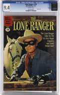 Silver Age (1956-1969):Western, The Lone Ranger #138 File Copy (Dell, 1961) CGC NM 9.4 Off-whitepages. Highest grade yet assigned by CGC for this issue. Ph...