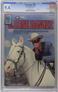 Silver Age (1956-1969):Western, The Lone Ranger #139 File Copy (Dell, 1961) CGC NM 9.4 Off-whitepages. A great photo cover starring the Lone Ranger and his...