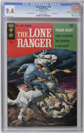 Silver Age (1956-1969):Western, Lone Ranger #10 File Copy (Gold Key, 1968) CGC NM 9.4 White pages. Painted cover. Last twelve-cent issue. Overstreet 2006 NM...