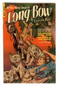 Long Bow #3 Mile High pedigree (Fiction House, 1951) Condition: NM. Maurice Whitman cover. Overstreet 2006 NM- 9.2 value...
