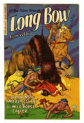 Golden Age (1938-1955):Western, Long Bow #8 (Fiction House, 1952) Condition: VF-. Maurice Whitman cover. Overstreet 2006 VF 8.0 value = $50. From the Coll...