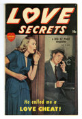 Golden Age (1938-1955):Romance, Love Secrets #2 Mile High pedigree (Quality, 1950) Condition: NM-.Photo cover. Overstreet 2006 NM- 9.2 value = $95. From ...