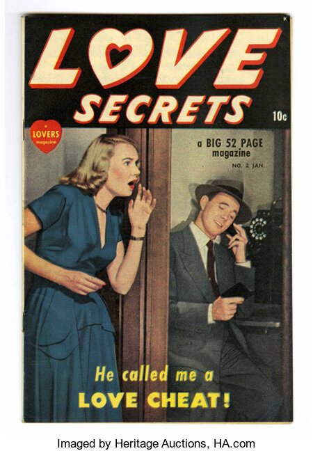 Love Secrets #2 Mile High pedigree (Quality, 1950) Condition: NM-. Photo cover. Overstreet 2006 NM- 9.2 value = $95. From ...