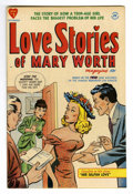 Golden Age (1938-1955):Romance, Love Stories of Mary Worth #1 Mile High pedigree (Harvey, 1949)Condition: NM-. 1940s newspaper reprints. Overstreet 2006 NM...