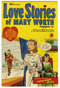 Golden Age (1938-1955):Romance, Love Stories of Mary Worth #2 Mile High pedigree (Harvey, 1949)Condition: VF/NM. 1940s newspaper reprints. Overstreet 2006 ...
