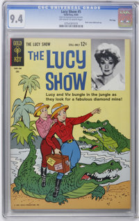 The Lucy Show #5 File Copy (Gold Key, 1964) CGC NM 9.4 Off-white to white pages. Photo back cover pin-up. Overstreet 200...