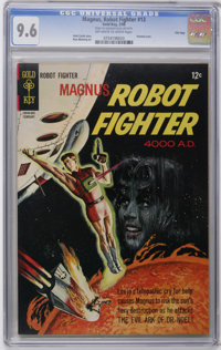 Magnus Robot Fighter #13 File Copy (Gold Key, 1966) CGC NM+ 9.6 Off-white to white pages . One of the highest-graded cop...