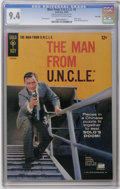 Silver Age (1956-1969):Adventure, Man from U.N.C.L.E. #2 File Copy (Gold Key, 1965) CGC NM 9.4 Off-white to white pages. Photo cover. Back cover photo pin-up....